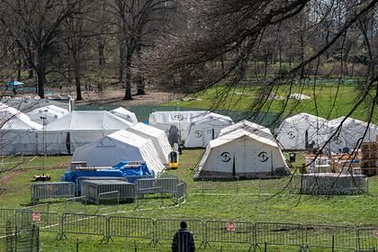 В Нью-Йорке задумались о массовых захоронениях жертв коронавируса в парках