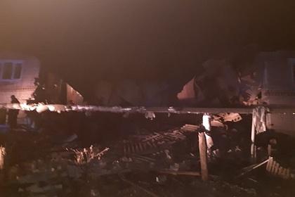 В жилом доме в Нижегородской области произошел взрыв