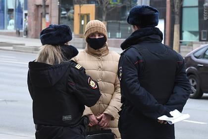 Подсчитано число бесед полиции с москвичами о соблюдении самоизоляции