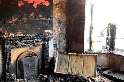 Многодетный отец спас семью от мучительной гибели в огне и попал в реанимацию