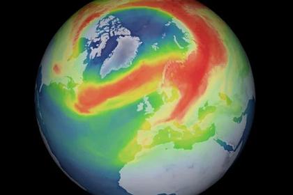 Обнаружена новая озоновая дыра