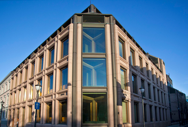 Здание государственного пенсионного фонда Норвегии