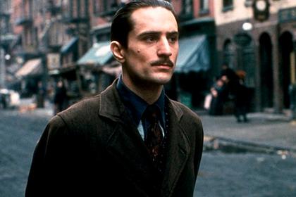 Де Ниро в роли молодого Вито Корлеоне