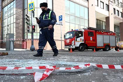Стало известно о первом пострадавшем при взрыве в бизнес-центре в Москве