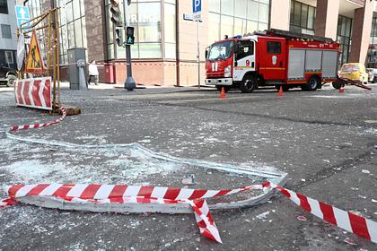 Названа причина взрыва в московском бизнес-центре