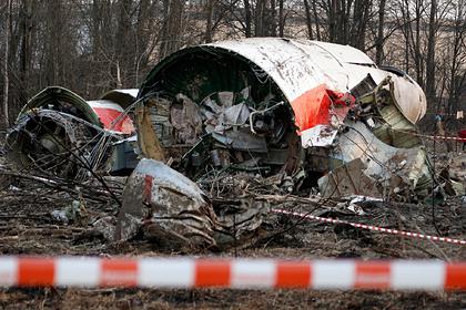 Раскрыты подробности дела о крушении самолета Качиньского под Смоленском