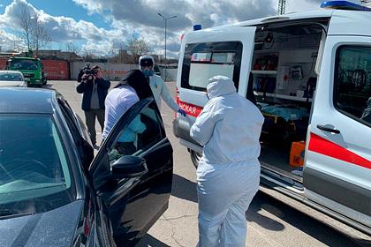 В столице России  унарушившего карантин водителя забрали автомобиль