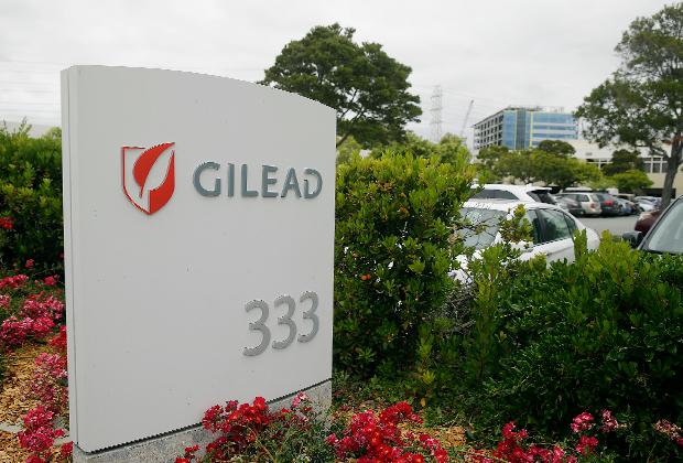 Штаб-квартира компании Gilead Sciences в Фостер-Сити, Калифорния