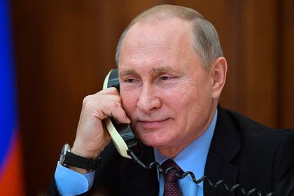 Президенты России и США впервые созвонились дважды за сутки