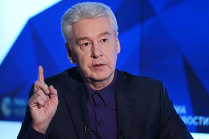 Собянин ввел новые ограничения в Москве из-за коронавируса