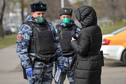 Власти Москвы рассказали о порядке утверждения пропускного режима