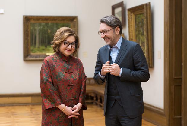 Зельфира Трегулова и Сергей Шнуров