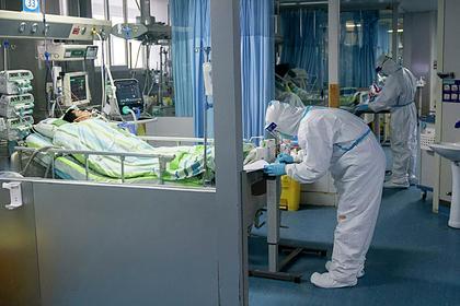Отделение интенсивной терапии в китайской больнице