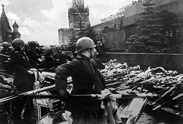 Парад Победы на Красной площади в Москве 24 июня 1945 года