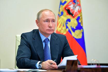 Путин раскрыл детали нового антикризисного плана