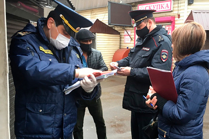 Власти Подмосковья рассказали о строгом контроле за передвижением граждан