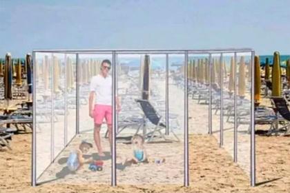 Найден способ безопасного загара на пляже после пандемии коронавируса