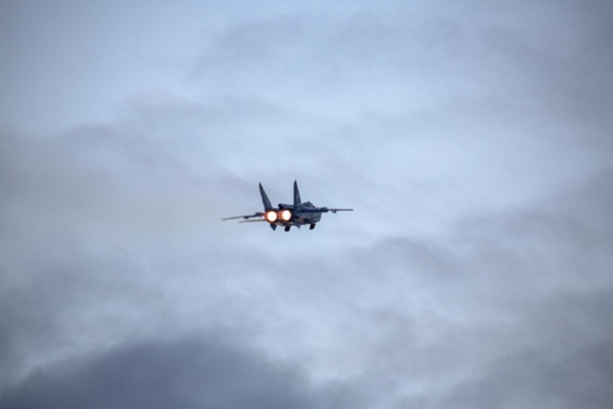 Обои ввс, миг-31, перехватчик, россии, истребитель, Самолёт. Авиация foto 2