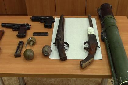 У похищавших велосипеды россиян нашли гранатомет