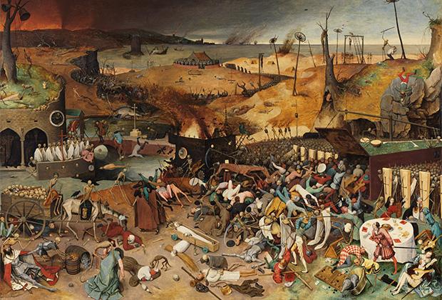 Картина Питера Брейгеля-старшего «Триумф смерти»