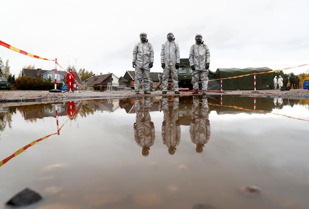 Учения в Литве, имитирующие аварию на АЭС