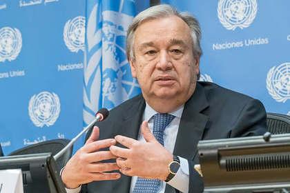 ООН призвала создать коалицию для разработки вакцины против коронавируса