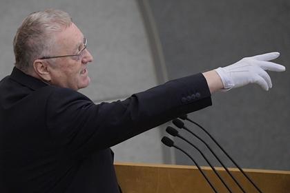 Жириновский потребовал от миллиардеров помочь россиянам