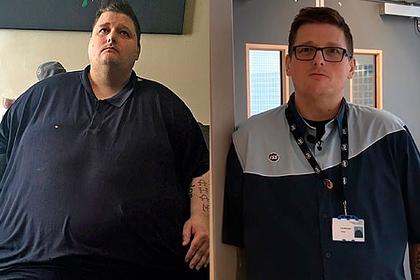 323-килограммовый мужчина сбросил две трети веса и устроился в больницу