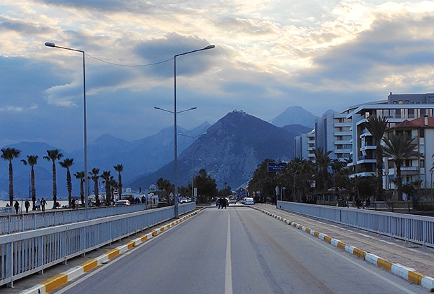 Дорога к Анталии