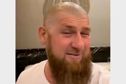 Кадыров побрился налысо и призвал всех чеченцев последовать его примеру