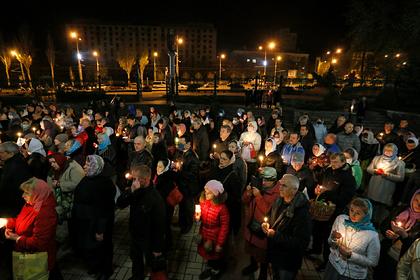 Донецкую область закрыли из-за нарушений карантина в храме на Пасху