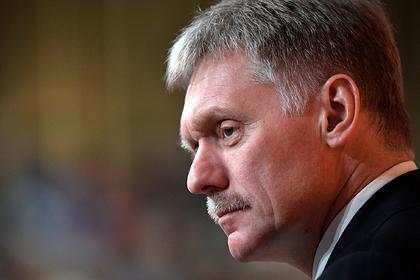 Кремль отреагировал на сообщения о нехватке средств защиты для врачей