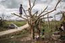 Дети из деревни Этас на острове Эфате смотрят на грузовик, доставляющий питьевую воду в к ним в деревню. После циклона «Пэм», который ударил по Вануату в 2015 году, многие местные общины лишились источников питьевой воды.