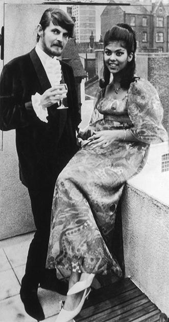 Александр Тинн и Таня Дакворт, 1969 год