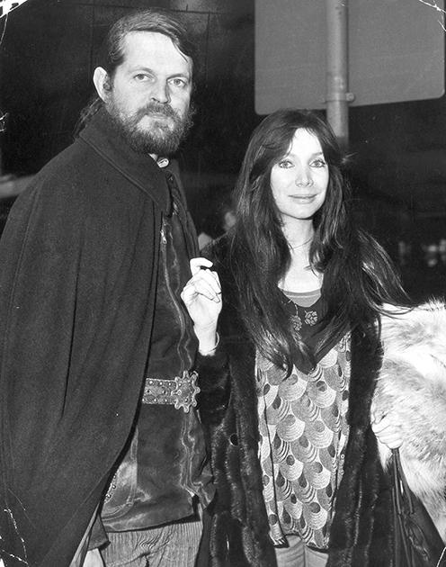 Александр Тинн и Анна Гаэль, 1974 год