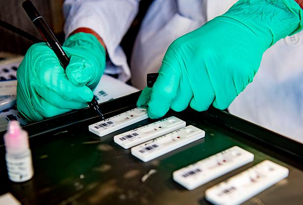 Тестирование на антитела