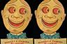 Возвращаемся к жути — перед вами реклама бисквитов Huntley & Palmers Comic Cuts из Оксфордширского музея, созданная в начале XX века. Если вам кажется, что такие добродушные лица на упаковке — это чересчур, то знайте, что у Huntley & Palmers была серия печенья в форме этих персонажей. Словом, прекрасная закуска для похода в самые жуткие музеи.