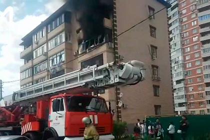 В жилом доме в Краснодаре произошел взрыв