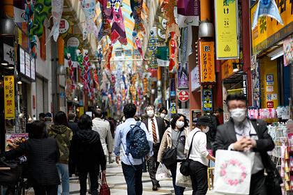 В Японии призвали мужчин покупать продукты вместо женщин во время пандемии