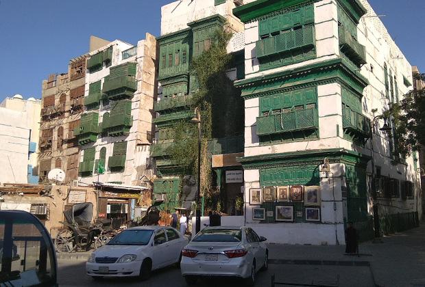 Колоритные дома старого города в Джидде