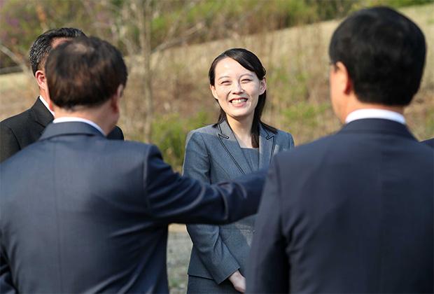 Младшая сестра главы КНДР Ким Ё Чжон