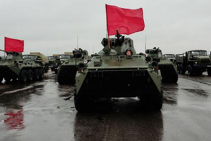 Готовившиеся к параду Победы войска возвращены в части