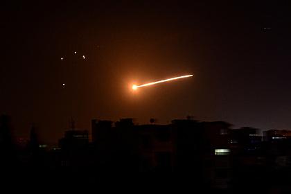 Стало известно о жертвах атаки на столицу Сирии