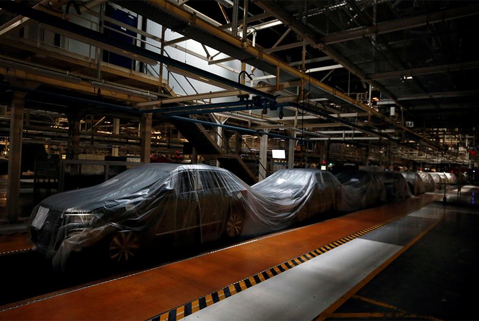 Остановившееся производство Volkswagen в Португалии
