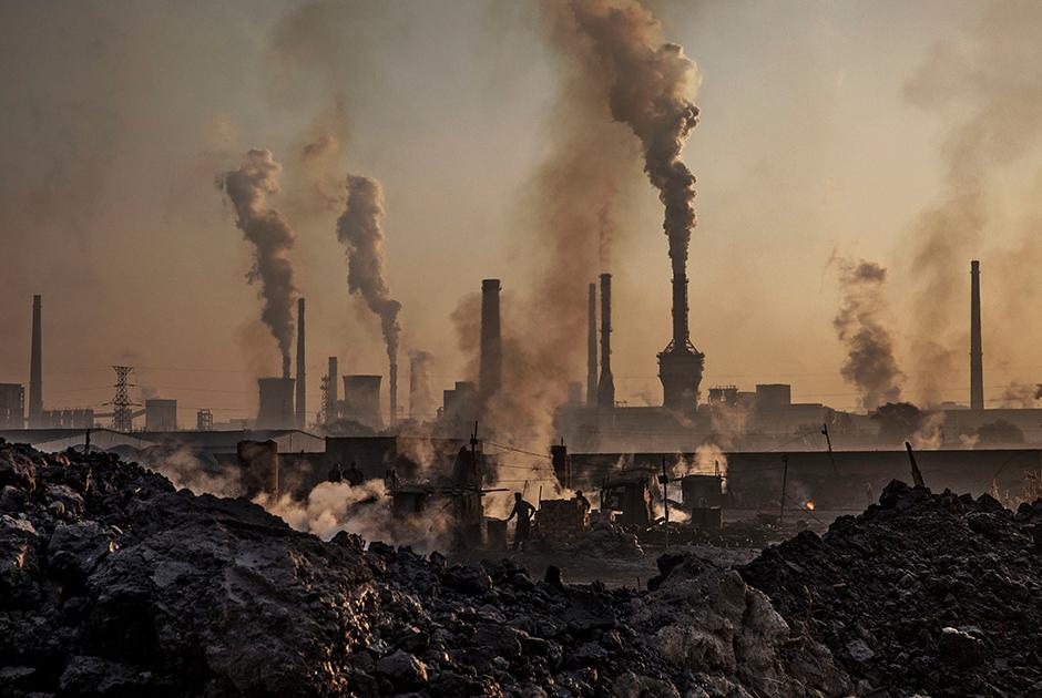 Металлургический завод в Китае