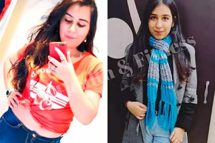 Студентка сбросила 21 килограмм за 10 месяцев и раскрыла секреты похудения