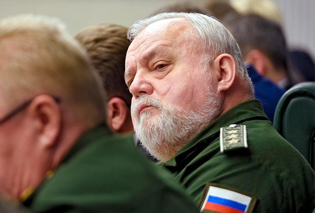 Александр Кирилин с погонами действительного государственного советника Российской Федерации 1 класса