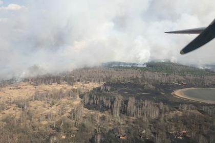 Власти Украины заявили о локализации пожаров в Чернобыльской зоне