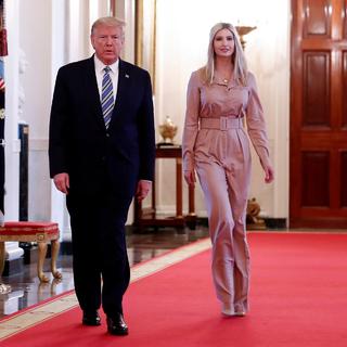 Дональд Трамп и Иванка Трамп