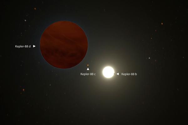 Обнаружена гигантская планета намного больше Юпитера